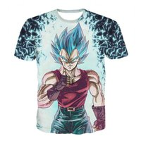 camiseta del niño de la mujer del hombre al por mayor-Dragon Ball Dbz Bulma Super Saiyan Vegeta Camiseta Hombres Mujeres Anime Kid Goku Goten Gohan Camiseta Harajuku Lonzo Ball Camisetas