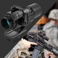 m2 montiert großhandel-Holographische Red Dot Sight M2 Jagd Optik Zielfernrohr Mit 20mm 11mm Schienenmontage Kollimator Anblick sniper Gun Jagd
