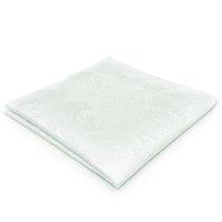 ingrosso fazzoletto quadrato tasca mens-EH31 Bianco Paisley Silk Mens Pocket Square Fashion Novelty Dress fazzoletto classico Hanky