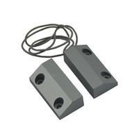 contacts magnétiques de la porte achat en gros de-Contacts de porte fenêtre en métal MC-56 Interrupteur magnétique d'alarme, Matériau du boîtier Poids en métal 157g Contenu 1 x Contacts de porte magnétiques 4 x Scr