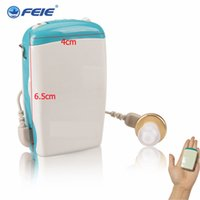 Wholesale Hearing Aid Pocket - Pocket Hearing Aids Ear Care Products Ear Amplifier Pocket Deaf Hearing Machine Instrument S-6D free shipping