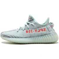Wholesale Icing Shoes - New 350 v2 Ice Yellow,Sply 350 Zebra Black White,Blue Tint Semi Frozen Yellow Gum Sole,Beluga 2.0 Kanye West Shoes