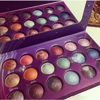 palette cuite achat en gros de-2018 Palette d'ombre ombre à paupières 18 couleur New Galaxy Chic Eye Palette Palette de fard à paupières Galaxy Chic Baked livraison gratuite