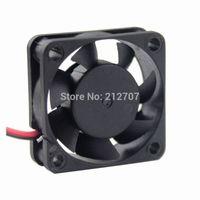 Wholesale 12v mini motors - dc mini fan 50PCS Gdstime 3010 30mm 30x30x10mm 12V 2Pin Mini Brushless DC Motor Cooling Fan