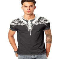 Wholesale hot t shirts for men for sale - Group buy T Shirt New Fashion Summer Hot Sale Wings Skull Tiger Print Mens Top Tees Cool Streetwear Casual T Shirts for Men Plenty Color M XL
