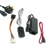 sabit disk toptan satış-Yeni sıcak satış USB 2.0 IDE SATA S-ATA 2.5 3.5 Sabit Disk HD HDD Dönüştürücü Adaptör Kablosu QJY99