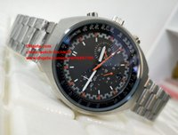 Wholesale mark x - Luxury High Quality Watch 46.2mm x 42mm Mark II 327.10.43.50.06.001 Chronometer Stainless Steel VK Quartz Chronograph Working Mens Watches