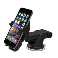 Wholesale gps car mount holder for sale - Multi functional Car Mobile phone Retractable bracket Degree Rotation Windshield Car Mount sucker navigation GPS Holder phone bracket