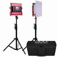 Wholesale led panel video light resale online - GVM LS Photography Light with Stand Set CRI97 TLCI97 K K LED Video Panel Light For Photo and Video Shooting
