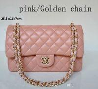 productos para damas al por mayor-Producto de promoción !!! 2019 Bolsas de Moda Clásica 5 bolsos de las mujeres de Color bolso Bolsos de Hombro Señora Pequeñas cadenas de oro bolsos de mano