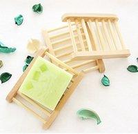 ingrosso scatole di sapone di legno-Portasapone in legno Portasapone in legno Portasapone portasapone Contenitore per vasca da bagno Piatto doccia