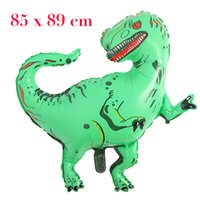 Hot selling Huge Dinosaur Balloon Kids Birthday Wedding Party Inflatable Air Balloons Decor Gifts Foil Balloon Gifts For Boys Toy