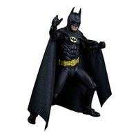 Wholesale neca toys - pvc action figure NECA 1989 Batman Michael Keaton 25th Anniversary PVC Action Figure Collectible Model Toy 18cm KT2974