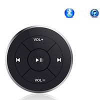 mando a distancia bluetooth coche al por mayor-Lonleap Car Wireless Bluetooth Remote Kit MP3 Music Controller para Iphone Android Universal para Coche Motocicleta Bicicleta