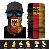 Wholesale 3d balaclava mask online - 3D Animal Ski Cycling Snowboard Scarf Neck Warmer Face Mask Balaclava Bandana National flag