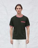 Wholesale base hip hop - Spring Summer New Pocket Decoration Based T-shirt For Men Short Sleeve T-shirts Hip Hop Men's Tee