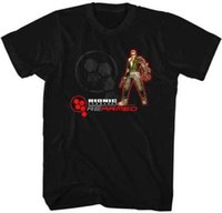 Wholesale bionic games for sale - Bionic Commando Rearmed X Box NES Video Game Adult T Shirt Comfortable t shirt Casual Short Sleeve Print Cotton