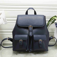 Wholesale Big Backpacks School Girls - 2018 New arrival women designer backpacks luxury famous brand backpack girls school bagpack Pu leather big capcatity