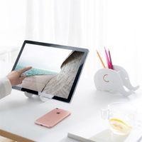 ingrosso morsetti di supporto-Hot Il supporto per telefono Elephant creativo può essere fissato con il supporto per supporto di supporto mobile IB677