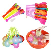Wholesale outdoor balloons - 111pcs bag Filling Water Balloons Funny Summer Outdoor Toy Balloon Bunch Water Balloons Bombs Novelty Gag Toys for Children