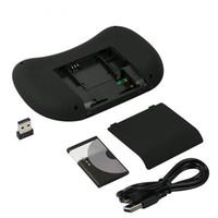 htpc iptv toptan satış-Arkadan aydınlatmalı Kablosuz Klavye BK8 Touchpad Multimedya Tuşları PC Pad Android Için Tuş Takımı / Google TV Kutusu HTPC IPTV PS3 XXM