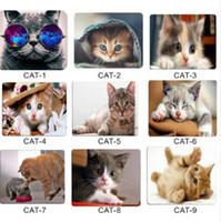 laptop cute wholesale-JONSNOW Mouse Pad Gamer Cute Cat Picture for Laptop PC Anti-slip Mice Mat Universal Comfortable Mouse Mad Mouse Computer