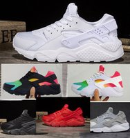 Wholesale Canvas Shoes Size 12 Women - 2018 New Air Huarache Running Shoes For Men & Women Sneakers Sport Huaraches Ultra Shoes Trainers Boost Size US 5.5-12