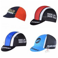 Wholesale bicicleta giant for sale - GIANT Bahrain cycling caps Bike Ciclismo Bicicleta Pirate Headband Cycling Cap Bicycle Helmet Wear Cycling Hat G1009