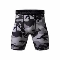 shorts secos venda por atacado-Mens calções de ginástica calções de treino PRO compressão Slim Fitted Active shorts Sweatpants Musculação Combate Seco Leggings homens calças curtas
