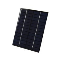 Wholesale mp3 tests for sale - 2W V Polycrystalline Solar Cell Panel PET Laminated Solar Cell Size mm mm for Solar Project and Test DHL Shipping