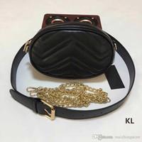 carteras cluth diseñador al por mayor-Bolsos de diseño bandolera bandolera bandolera de diseñador bolsos de lujo cadena de mensajero cintura bolsa de mensajero de lujo famosa marca cluth monedero
