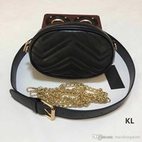 berühmte marken-geldbörsen großhandel-Designer Handtaschen Schulter Crossbody Messenger Designer Luxus Taschen Kette Messenger Taille Luxus Messenger Bag berühmte Marke Cluth Geldbörse
