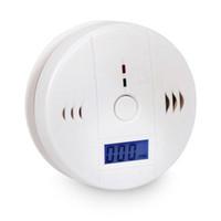 carbon monoxide alarm al por mayor-Detector de advertencia del detector de la alarma del envenenamiento del monóxido de carbono del CO para el edificio de oficinas del hogar de la fábrica