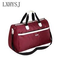 männer schultertasche tuch großhandel-LXHYSJ Oxford tuch Männer reisetaschen Hohe kapazität Frauen Reisetaschen Organizer Diagonal tragbare umhängetasche