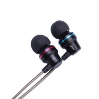 компьютерные телефоны оптовых-Inpher-SMX6 3.5mm Earphone Metal headset In-Ear Earbuds For Mobile phones computers MP3 MP4 Earphones earphone for phone