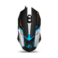 mouse lol venda por atacado-Original iMice V6 Profissional Wired Gaming Mouse 2400 DPI USB Optical Com Fio Mouse Mouse 6 Botões Computador Gamer Mouse Para LOL Dota2 CS Hot