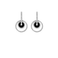Wholesale P Charms - P Earring Switzerland Brand Muse Circle Stud Women Wedding Party Diamond Charm Valentine's Day Earrings Desire&Passion Stud