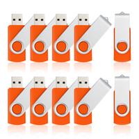 tableta púrpura pc al por mayor-10 UNIDS / LOTE USB Flash Drives 512 MB de Bajo Capacidad Giratoria Giratoria para Computadora Portátil USB 2.0 Memory Thumb Drive Pendrive Envío Gratis