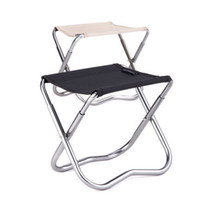 Wholesale portable hiking chair - Mini Folding Beach Chair Easy Carry Outdoor Fishing Stool Hiking & Camping Gargden Portable Train Chair with a Bag Fast Shipping
