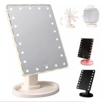 ingrosso regali di ancoraggio svegli-Specchietto per il bagno con touch screen a specchio da 360 gradi, specchio per il trucco