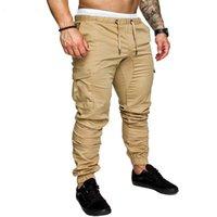 ingrosso jeans per jogger-Nuovi jeans skinny pantaloni jogger da uomo pantaloni jogger pantaloni sportivi streetwear pantaloni bodybuilding pantaloni da uomo jeans denim jean pantaloni tattici S1012