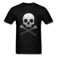 sudaderas de algodón para adultos al por mayor-Pixelated Poison gradientgrey Summer Tops camiseta de algodón para adultos día del año nuevo cuello redondo camiseta diseño sudaderas cupones