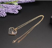 Wholesale prom gifts for girls for sale - Group buy Charm Fashion Silver Necklaces for Women Girl Heart Honeycomb Bee Animal Pendant Choker Necklace Jewelry Party Prom Gift