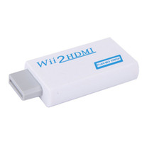 Wholesale audio jack adapter converter resale online - VBESTLIFE Wii to HDMI P Converter Wii2HDMI Adapter mm Jack Audio Video Output Full HD P Output For HDTV good