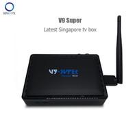 Wholesale pro usb cable - New Singapore Starhub TV Box V9 Super Recolbe box as same server as V9 Pro V8 Golden stable cable tv box