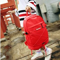 Wholesale travel backpack - Hot explosions SUPER brand shoulder bag hipster fashion bag casual student bag handbag travel backpack free shopping
