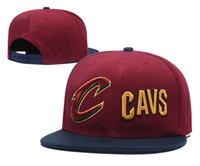 Wholesale unisex locker - HOT 2018 SnapBack Cleveland CAVS Locker Room Official Hat Adjustable men women Baseball Cap