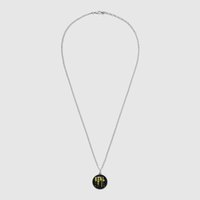 Wholesale 18k yellow gold solitaire jewelry online - Ghost sterling silver necklace pendant female Europe and America new sterling silver jewelry factory for Women