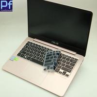 laptops teclado para asus venda por atacado-13.3 13 polegada tampa do teclado do laptop protetor de pele para asus zenbook flip ux370ua ux370 ux370 ux360ua ux360 13.3 ''