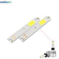 10pcs S2 Car Headlight COB Chip LED Light Source H1 H3 H4 H7 H11 9005 9006 9012 COB Bulb for S2 Auto Lamps Headlamp Beads Chips